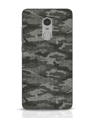 Shop Dark Camo Xiaomi Redmi Note 4 Mobile Cover-Front