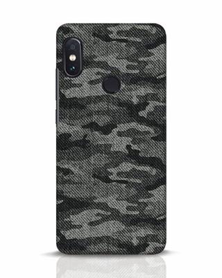 Shop Dark Camo Xiaomi Redmi Note 5 Pro Mobile Cover-Front