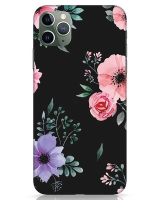 Shop Dark Florals iPhone 11 Pro Max Mobile Cover-Front