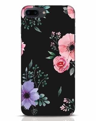 Shop Dark Florals iPhone 7 Plus Mobile Cover-Front