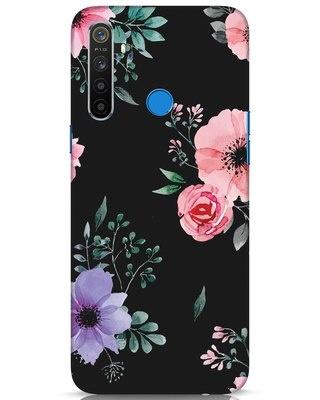 Shop Dark Florals Realme 5 Mobile Cover-Front