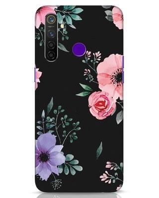 Shop Dark Florals Realme 5 Pro Mobile Cover-Front