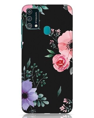 Shop Dark Florals Samsung Galaxy F41 Mobile Cover-Front