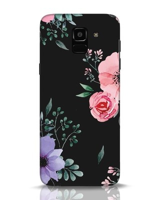 Shop Dark Florals Samsung Galaxy J6 Mobile Cover-Front