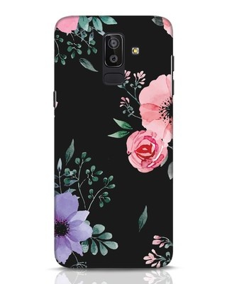 Shop Dark Florals Samsung Galaxy J8 Mobile Cover-Front