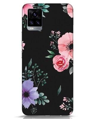 Shop Dark Florals Vivo V20 Mobile Cover-Front