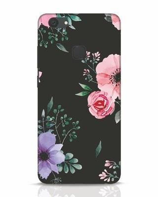 Shop Dark Florals Vivo V7 Plus Mobile Cover-Front