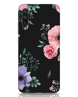 Shop Dark Florals Xiaomi Mi A3 Mobile Cover-Front