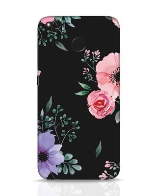 Shop Dark Florals Xiaomi Redmi 4 Mobile Cover-Front