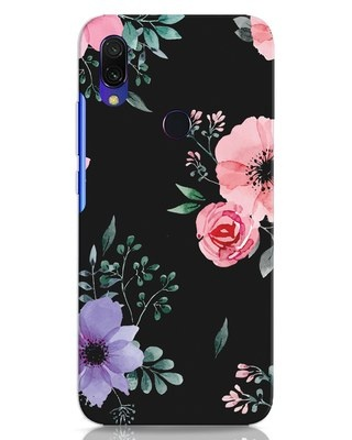 Shop Dark Florals Xiaomi Redmi 7 Mobile Cover-Front
