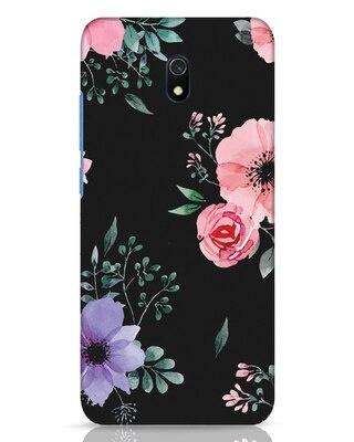 Shop Dark Florals Xiaomi Redmi 8A Dual Mobile Cover-Front