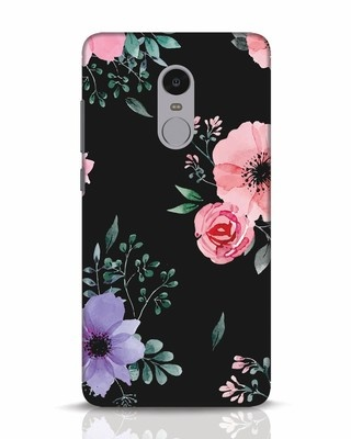 Shop Dark Florals Xiaomi Redmi Note 4 Mobile Cover-Front