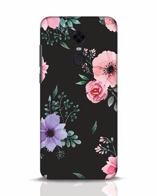 Shop Dark Florals Xiaomi Redmi Note 5 Mobile Cover-Front