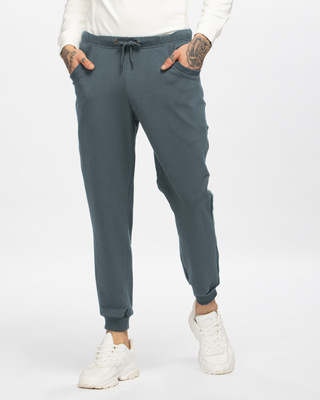 Shop Dark Grey Casual Jogger Pant-Front