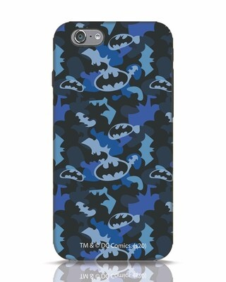 Shop Dark Knight Camo iPhone 6s Mobile Cover-Front