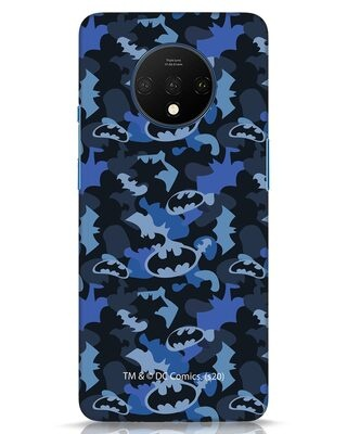 Shop Dark Knight Camo OnePlus 7T Mobile Cover-Front