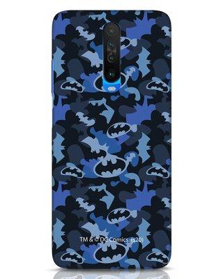 Shop Dark Knight Camo Xiaomi Poco X2 Mobile Cover-Front
