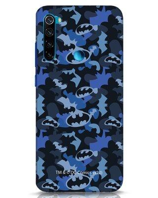 Shop Dark Knight Camo Xiaomi Redmi Note 8 Mobile Cover-Front