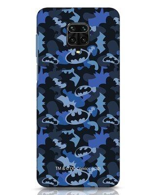 Shop Dark Knight Camo Xiaomi Redmi Note 9 Pro Max Mobile Cover-Front