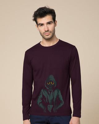 Shop Dark Rebel Full Sleeve T-Shirt-Front
