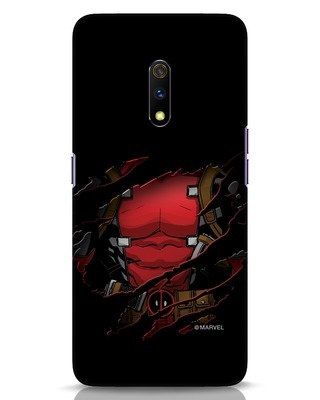 Shop Dead Torn Realme X Mobile Cover (AVL)-Front