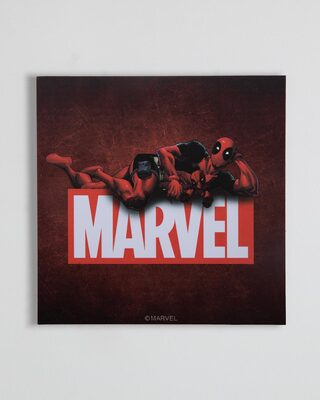 "Shop Deadpool (Marvel) Square Graphic Board -12""x12"" Multicolor-Front"