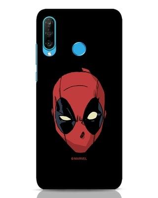 Shop Deadpool Face Huawei P30 Lite Mobile Cover (DPL)-Front