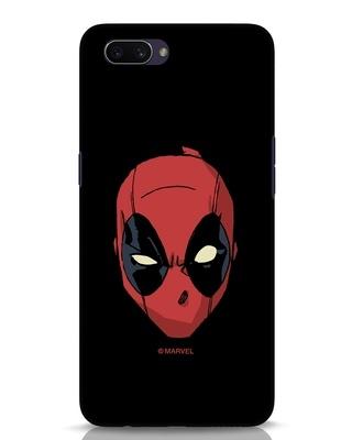 Shop Deadpool Face Oppo A3S Mobile Cover (DPL)-Front