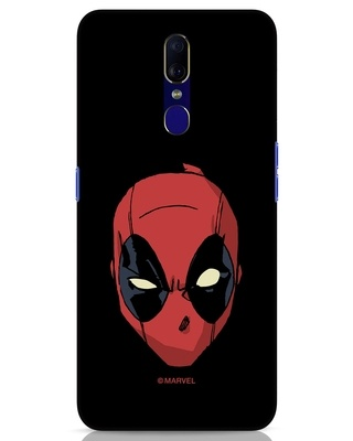 Shop Deadpool Face Oppo F11 Mobile Cover (DPL)-Front