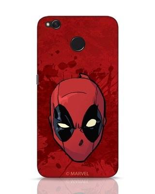 Shop Deadpool Face Splatter Xiaomi Redmi 4 Mobile Cover (DPL)-Front