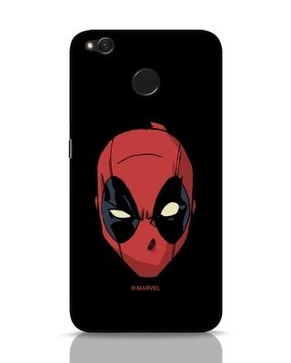 Shop Deadpool Face Xiaomi Redmi 4 Mobile Cover (DPL)-Front
