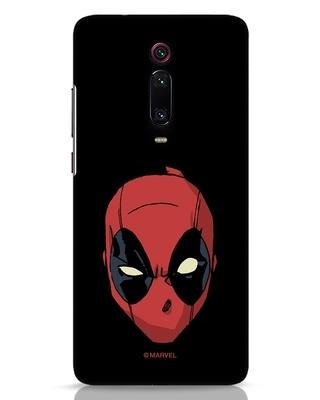 Shop Deadpool Face Xiaomi Redmi K20 Pro Mobile Cover (DPL)-Front
