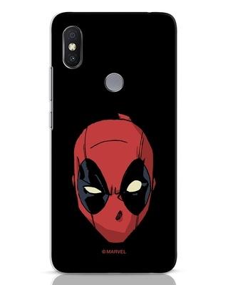 Shop Deadpool Face Xiaomi Redmi Y2 Mobile Cover (DPL)-Front