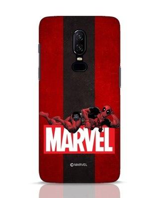 Shop Deadpool Marvel OnePlus 6 Mobile Cover (DPL)-Front