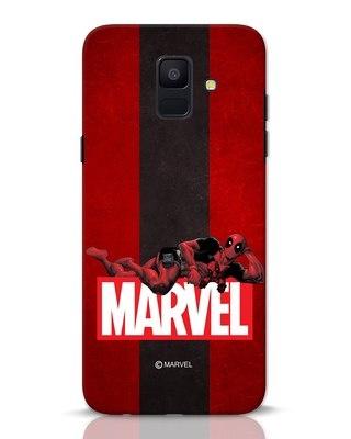 Shop Deadpool Marvel Samsung Galaxy A6 2018 Mobile Cover (DPL)-Front