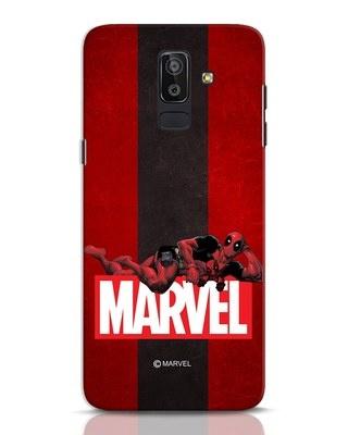 Shop Deadpool Marvel Samsung Galaxy J8 Mobile Cover (DPL)-Front