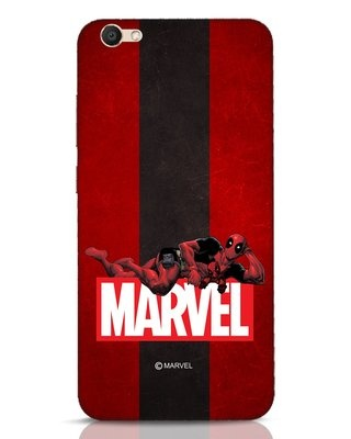Shop Deadpool Marvel Vivo V5 Mobile Cover (DPL)-Front