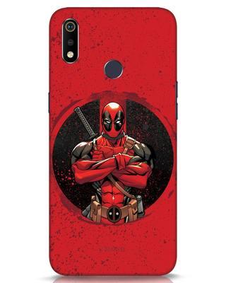 Shop Deadpool Splatter Realme 3i Mobile Cover (DPL)-Front