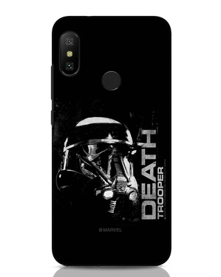 Shop Death Trooper Xiaomi Redmi Note 6 Pro Mobile Cover (SWL)-Front