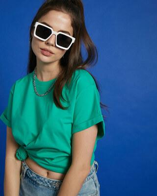Shop Bubble Gum Boyfriend T-Shirt-Front