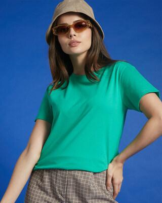 Shop Bubble Gum Half Sleeve T-Shirt-Front