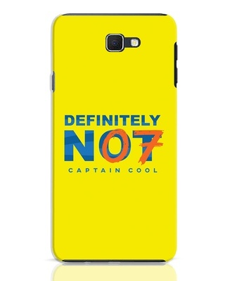 Shop Definitely Not 7 Samsung Galaxy J7 Prime Mobile Cover-Front