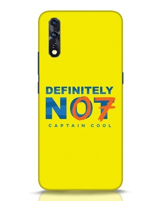 Shop Definitely Not 7 Vivo Z1x Mobile Cover-Front