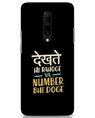 Shop Dekhte Hi Rahoge OnePlus 7 Pro Mobile Cover-Front
