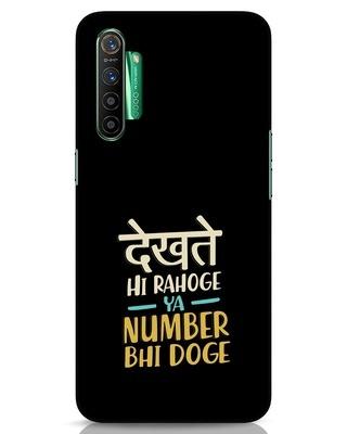 Shop Dekhte Hi Rahoge Realme X2 Mobile Cover-Front