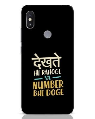 Shop Dekhte Hi Rahoge Xiaomi Redmi Y2 Mobile Cover-Front