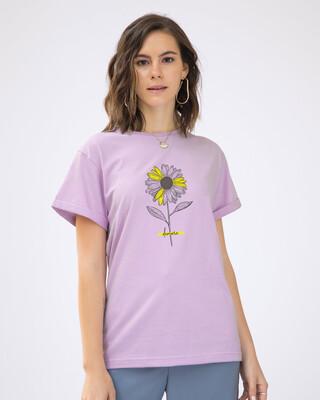 Shop Demure Boyfriend T-Shirt-Front
