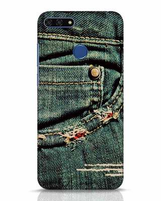 Shop Denims Huawei Honor 7A Mobile Cover-Front
