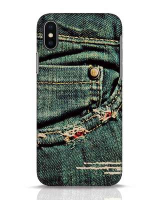 Shop Denims iPhone X Mobile Cover-Front