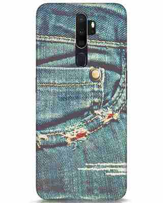 Shop Denims Oppo A5 2020 Mobile Cover-Front